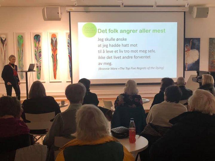 Foredrag for seniorer i Lørenskog